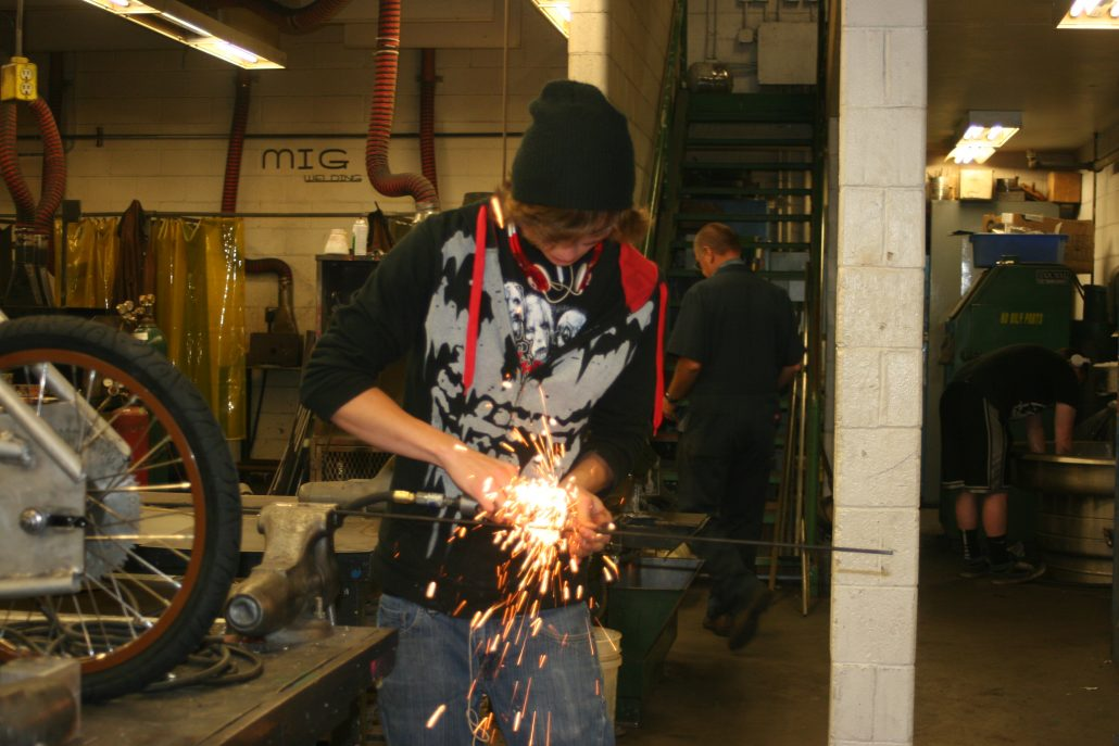 Pathways to Manufacturing / Urban Opportunities - Student Welding