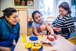 Impact NW's Early Childhood programs offer parents and children to grow and thrive together.