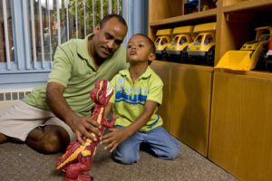 Impact NW's Early Childhood Fathering Project