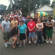 يحتفل المشاركون في Club Impact في Oaks Park