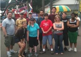 Các thành viên của Club Impact tham dự Oaks Park