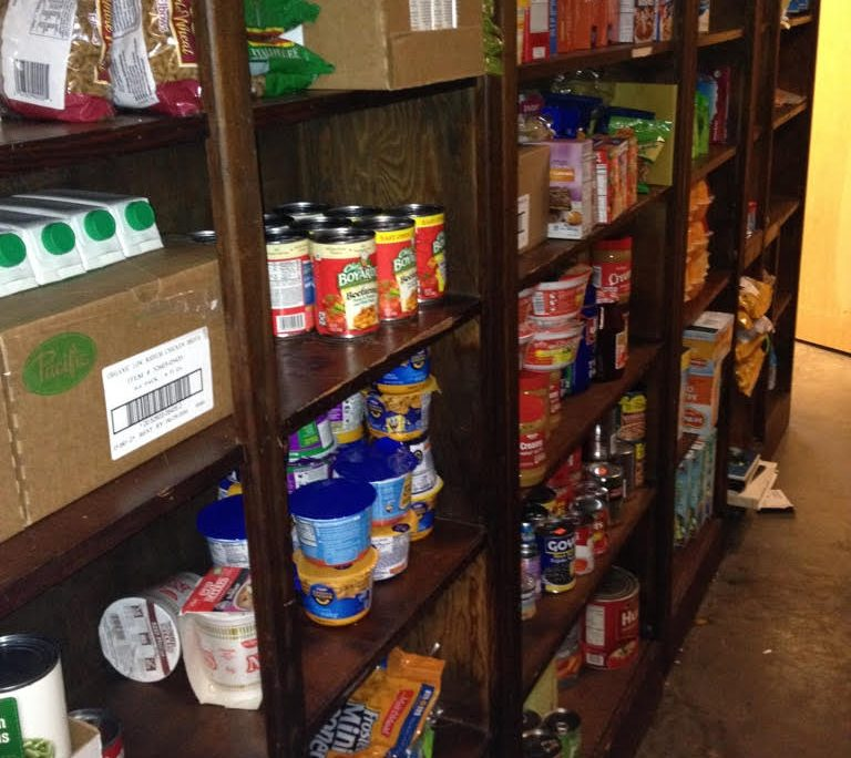 Food Pantry Filled - 2016