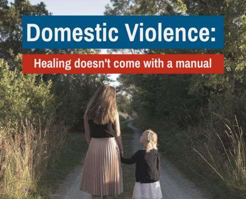 Bạo lực gia đình: Chữa bệnh không đi kèm với hướng dẫn sử dụng