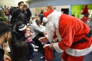 Turner Construction makes the holidays special for clients at Richmond Place