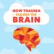 Chấn thương Infographic - Làm thế nào Chấn thương Clouds Brain