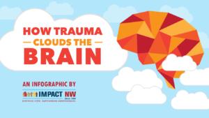 创伤如何覆盖大脑 - Impact NW的信息图