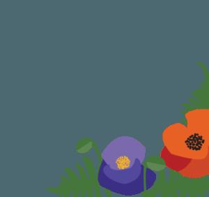 Garden Party 2017 - Flores en la esquina derecha
