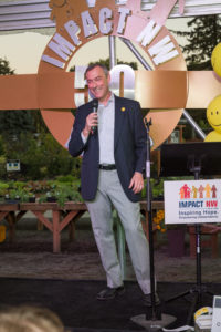 Jeff Cogen at the 2016 Impact NW Annual Garden Party
