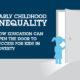 早期儿童不平等
