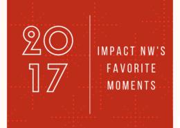 Các thời điểm ưa thích của Impact NW năm 2017