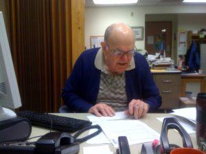 Man volunteering with Senior GAP
