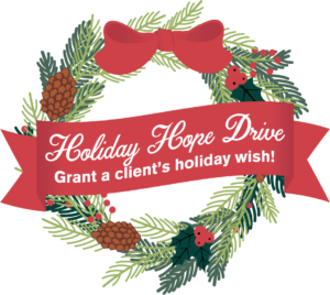 Holiday Hope Drive - Wreath