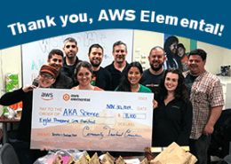 Cảm ơn bạn, AWS Elemental!