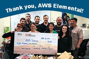 Thank you, AWS Elemental!