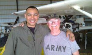 Джером, клиентом Impact NW, является ветераном армии и ВВС США