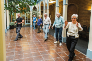 Seniors enjoying Tai Chi