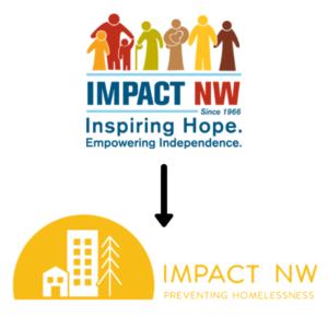 Impact NW Logo Redesign