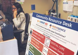 Providence Community Resource Desks