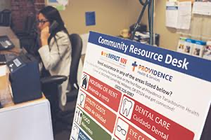 Providence Community Resource Desks