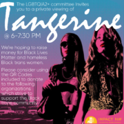 Tangerine Movie Poster