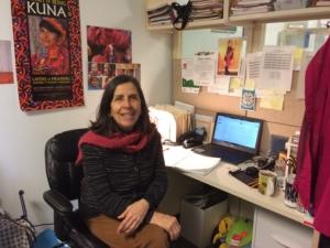 Sonia Rincon-Heflin in an office