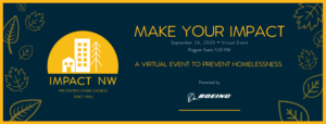 Make Your Impact - A virtual event to prevent homelessness
