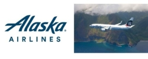 Alaska Airlines Logo and Plane