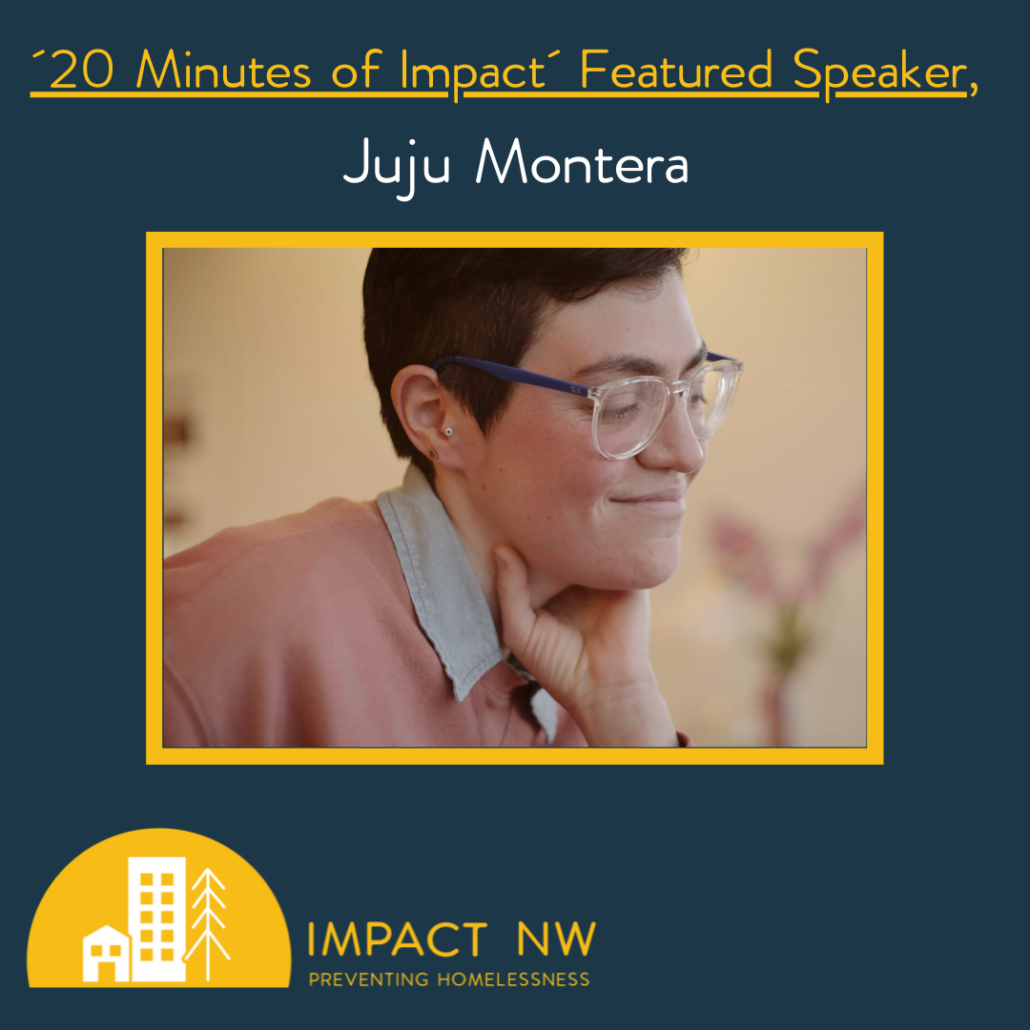 20 Minutes of Impact Featured Speaker Juju Montera